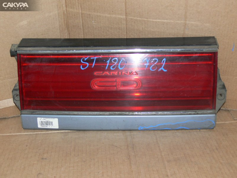 Фонарь вставка багажника Toyota Carina ED ST180  Красноярск Сакура Моторс