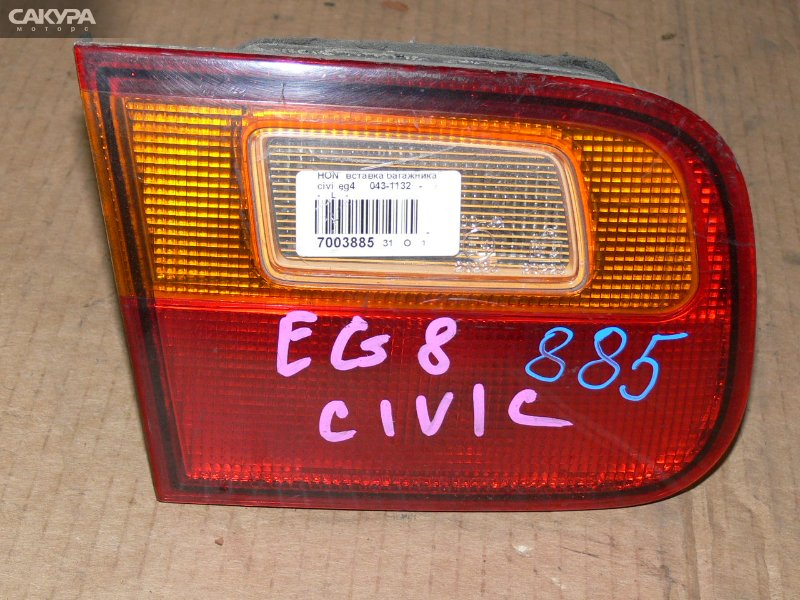 Фонарь вставка багажника Honda Civic EG4  Красноярск Сакура Моторс