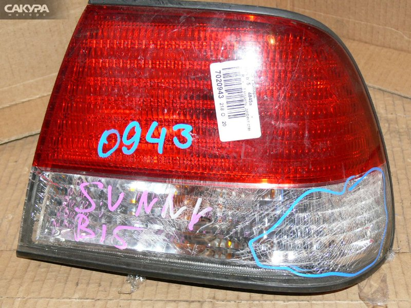 Фонарь стоп-сигнала Nissan Sunny B15  Красноярск Сакура Моторс