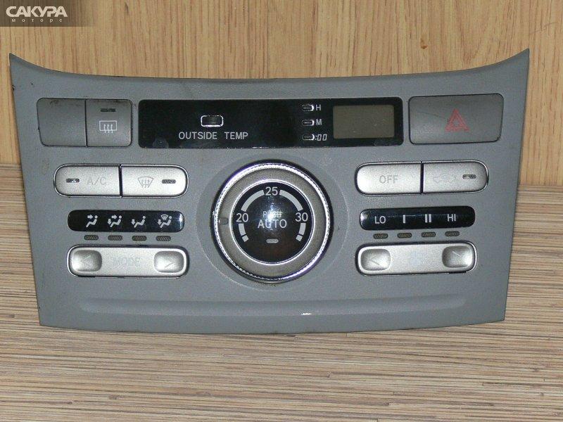 Блок управления отоплением и вентиляцией Toyota Noah AZR60G  Красноярск Сакура Моторс