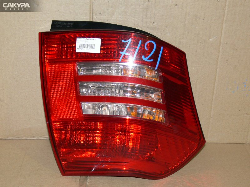 Фонарь стоп-сигнала Toyota Corolla Runx NZE121  Красноярск Сакура Моторс