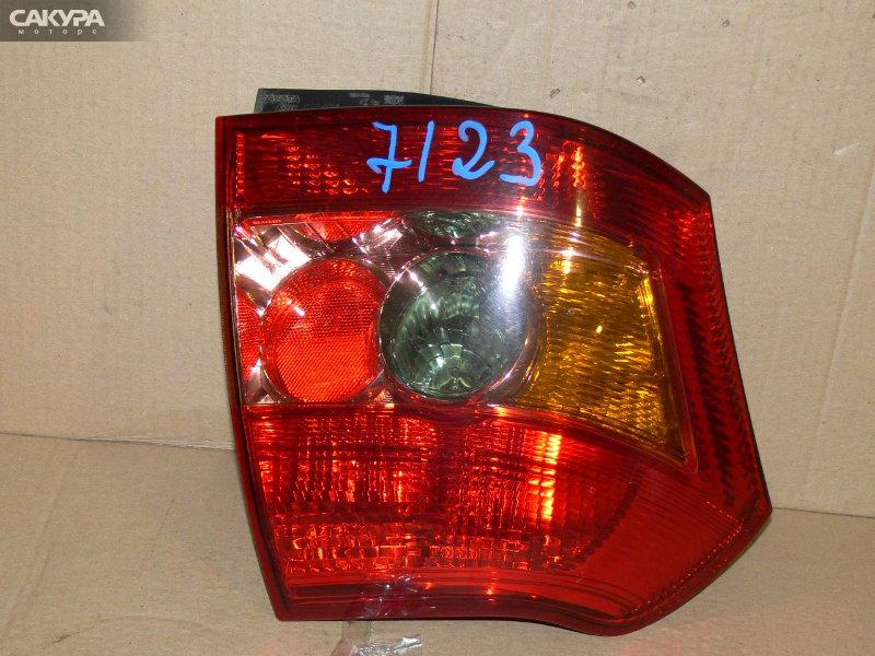Фонарь стоп-сигнала Toyota Allex NZE121  Красноярск Сакура Моторс