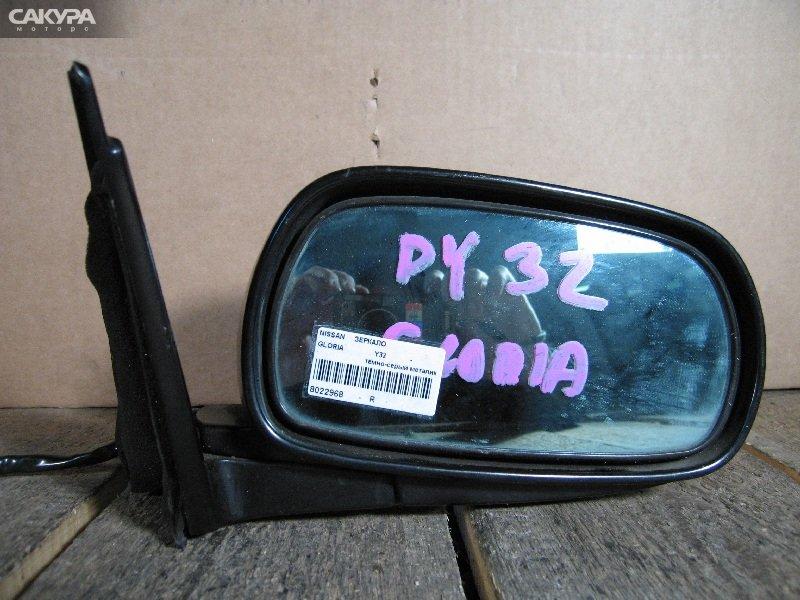 Зеркало боковое Nissan Gloria Y32  Красноярск Сакура Моторс