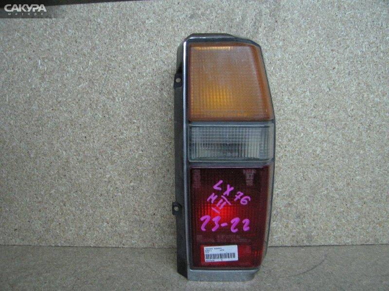 Фонарь стоп-сигнала Toyota Mark II GX70G  Красноярск Сакура Моторс