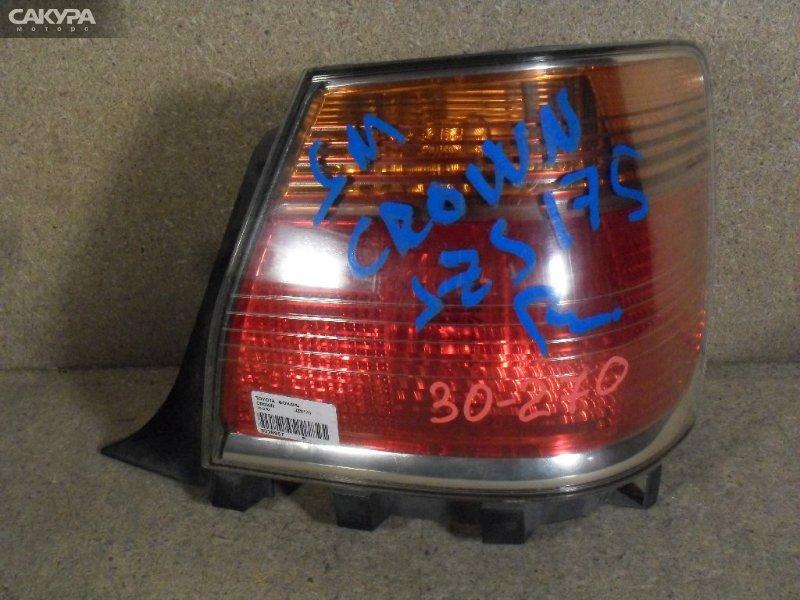 Фонарь стоп-сигнала Toyota Crown JZS175  Красноярск Сакура Моторс