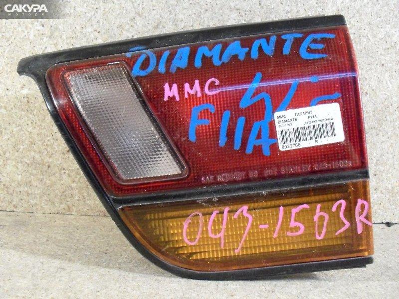 Фонарь вставка багажника Mitsubishi Diamante F11A  Красноярск Сакура Моторс