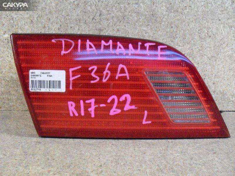 Фонарь вставка багажника Mitsubishi Diamante F36A  Красноярск Сакура Моторс