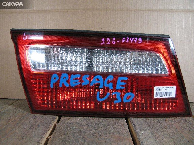 Фонарь вставка багажника Nissan Presage U30  Красноярск Сакура Моторс
