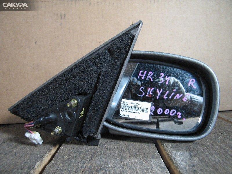 Зеркало боковое Nissan Skyline HR34  Красноярск Сакура Моторс
