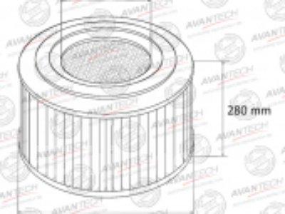 Купить Фильтр воздушный Avantech AF0124  в Красноярске