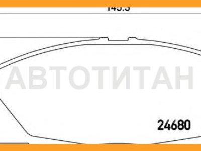 Купить Колодки тормозные дисковые | перед | TOYOTA HIACE / COMMUTER V (TRH2_, KDH2_) 2.7 (TRH223) 01.2005 - <=> TOYOTA HIACE / COMMUTER V (TRH2_, KDH2_) 3.0 D (KDH223) 01.2005 - | Brembo P83139 |  в Новосибирске