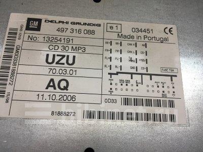 Купить Магнитолу на Opel Corsa D Z 14 XEP  в Кемерове