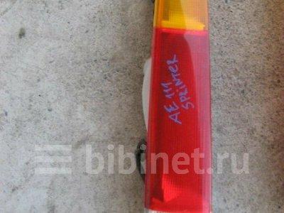 Купить Фонарь стоп-сигнала на Toyota Sprinter Carib AE111G левый  в Красноярске