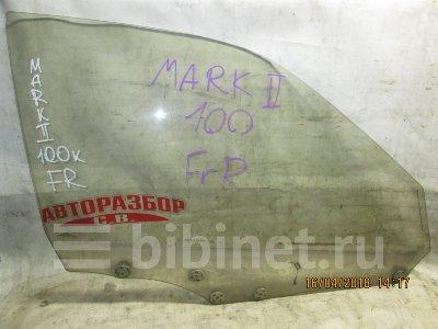 Купить Стекло боковое на Toyota Mark II JZX100 переднее правое  в Кемерове