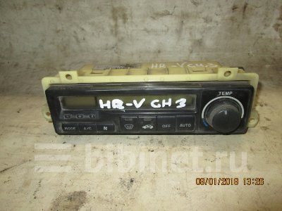 Купить Блок управления климат-контролем на Honda HR-V 2000г. GH3 D16A  в Кемерове