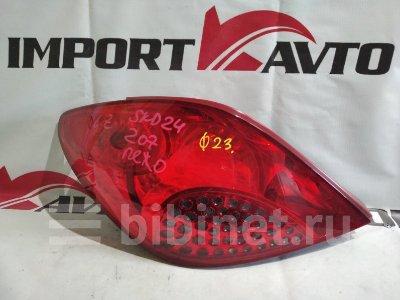 Купить Фонарь стоп-сигнала на Peugeot 207 EP6 задний левый  в Иркутске