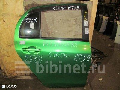 Купить Дверь боковую на Toyota Vitz KSP90 заднюю правую  в Москве