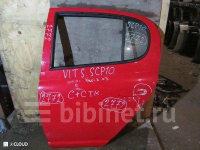 Купить Дверь боковую на Toyota Vitz SCP10 заднюю левую  в Москве