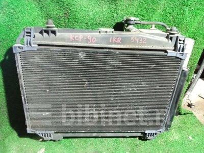 Купить Радиатор двигателя на Toyota Vitz SCP90  в Уссурийске