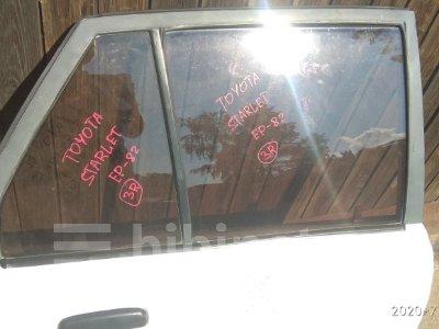 Купить Стекло боковое на Toyota Starlet 1990г. EP82 4E-F заднее правое  в Лесосибирске