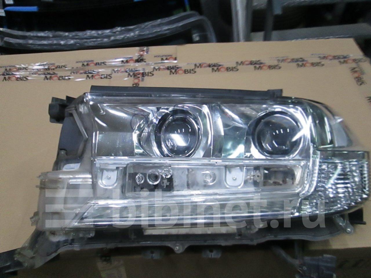 Фара на Toyota Land Cruiser