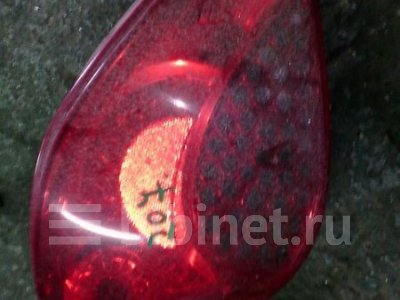 Купить Фонарь стоп-сигнала на Peugeot 207 2009г. задний левый  в Красноярске